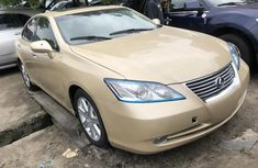 Used Lexus ES 350 Foreign 2008 Model Brown
