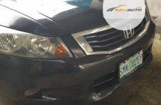 Nigeria Used Honda Accord EX 2008 Model Black