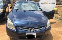 Nigeria Used Honda Accord 2003 Automatic Blue