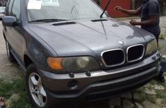 Foreign Used BMW X5 3.0i 2003 Model Blue