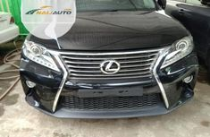 Foreign Used Lexus RX 350 2015 Model Black