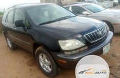 Nigeria Used Lexus RX 2003 Model Black