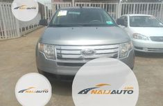 Foreign Used Ford Edge 2008 Model Blue
