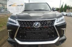 Tokunbo Lexus LX 570 2010 Model Black