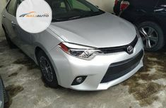 Foreign Used Toyota Corolla 2016 Model Silver