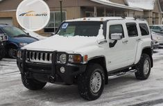 Foreign Used Hummer H3 2009 Model White