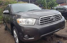 Foreign used 2010 Toyota highlander