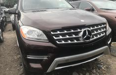 Mercedes Benz ML350 Foreign Used 2013 Model Black