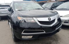 2012 Acura MDX Foreign Used Black for Sale in Lagos
