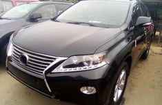 Lexus RX 350 Foreign Used 2013 Model Black