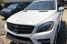 Mercedes Benz ML350 Foreign Used 2015 Model White