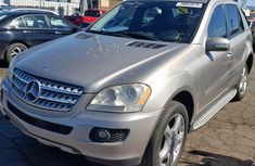 Mercedes Benz ML350 Foreign Used 2008 Model Silver