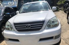 Used Lexus GX470 SUV for Sale Foreign 2005 Model White