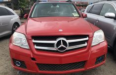 Mercedes Benz GLK350 Foreign Used 2011 Model Red