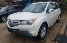 Foreign Used Acura MDX 2008 Model White for Sale