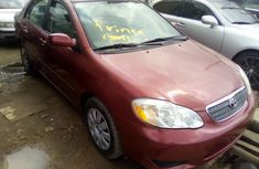 Used Toyota Corolla Foreign 2010 Model Red for Sale
