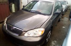 Used Toyota Corolla Foreign 2004 Model Black for Sale
