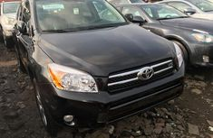 Used Toyota RAV4 for Sale Foreign 2008 Model Black