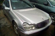 Used Mercedes Benz C200 Kompressor Foreign 2002 Model Silver