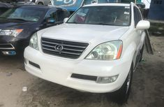 Used Lexus GX470 SUV for Sale Foreign 2006 Model White