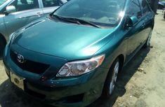 Used Toyota Corolla Foreign 2010 Model Green for Sale