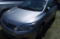 Used Toyota Corolla Foreign 2009 Model Silver