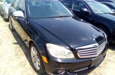 Mercedes Benz C300 Foreign Used 2008 Model Black