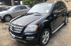 Mercedes Benz ML350 Foreign Used 2011 Model Black