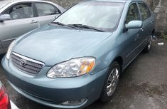 Used Toyota Corolla Foreign 2005 Model Green