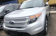 Ford Explorer 2012 Model Tokunbo Silver Jeep
