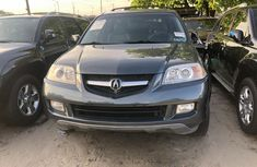 2006 Acura MDX Tokunbo Black Jeep in Lagos