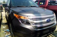Ford Explorer 2012 Model Foreign Used Brown