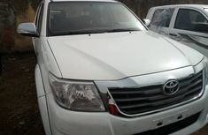 Foreign Used Toyota Hilux 2012 Model White for Sale