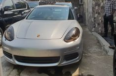 Foreign Used Porsche Panamera 2014 Model Silver