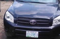 Used Toyota RAV4 for Sale Nigeria 2007 Model Black