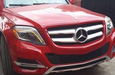 Mercedes Benz GLK350 Foreign Used 2013 Model Red