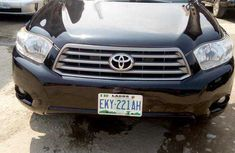 Toyota Highlander SUV Nigeria Used 2010 Model Black