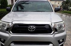 Foreign Used Toyota Tacoma 2013 Model Silver