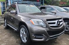 Mercedes Benz GLK350 Foreign Used 2014 Model  Brown