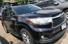 Toyota Highlander SUV Tokunbo Limited Edition 2015 Model Black