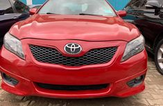 Foreign Used Toyota Camry Sport Edition 2010 Model Red