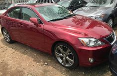 2008 Lexus IS 250 Foreign Used Red for Sale