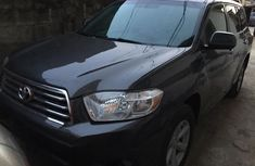 Toyota Highlander SUV Nigeria Used 2010 Model Grey
