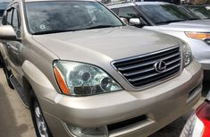 Used Lexus GX470 SUV for Sale Foreign 2005 Model Gold