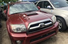 2008 Toyota 4Runner Foreign Used Red for Sale