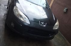 Nigeria Used Peugeot 407 V4 2008 Model Black