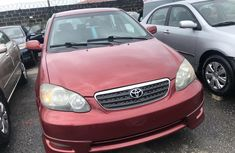Used Toyota Corolla Foreign 2015 Sport Edition Model Red