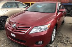 Foreign Used Toyota Camry XLE 2010 Model Red