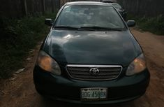Used Toyota Corolla Nigeria 2005 Model Green