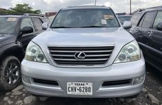 Used Lexus GX470 SUV for Sale Foreign 2005 Model Silver